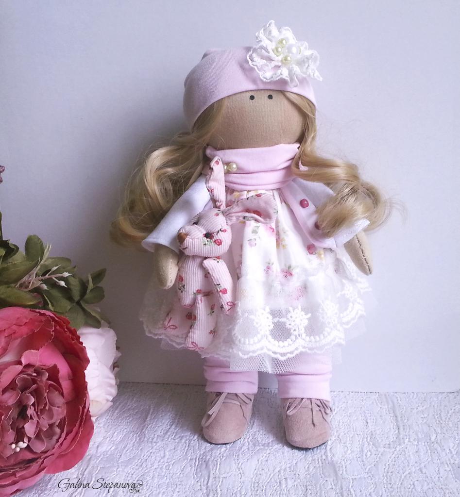 Кукла Лиза сделано своими руками