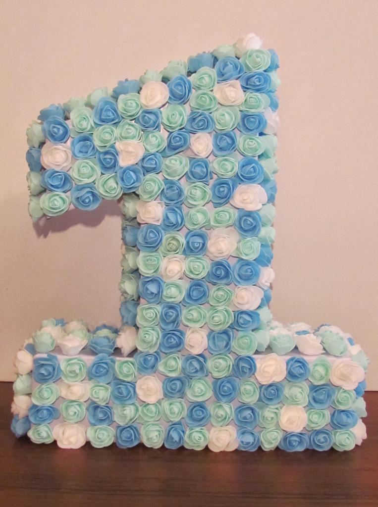 Цифра на день рождения ребенка своими руками