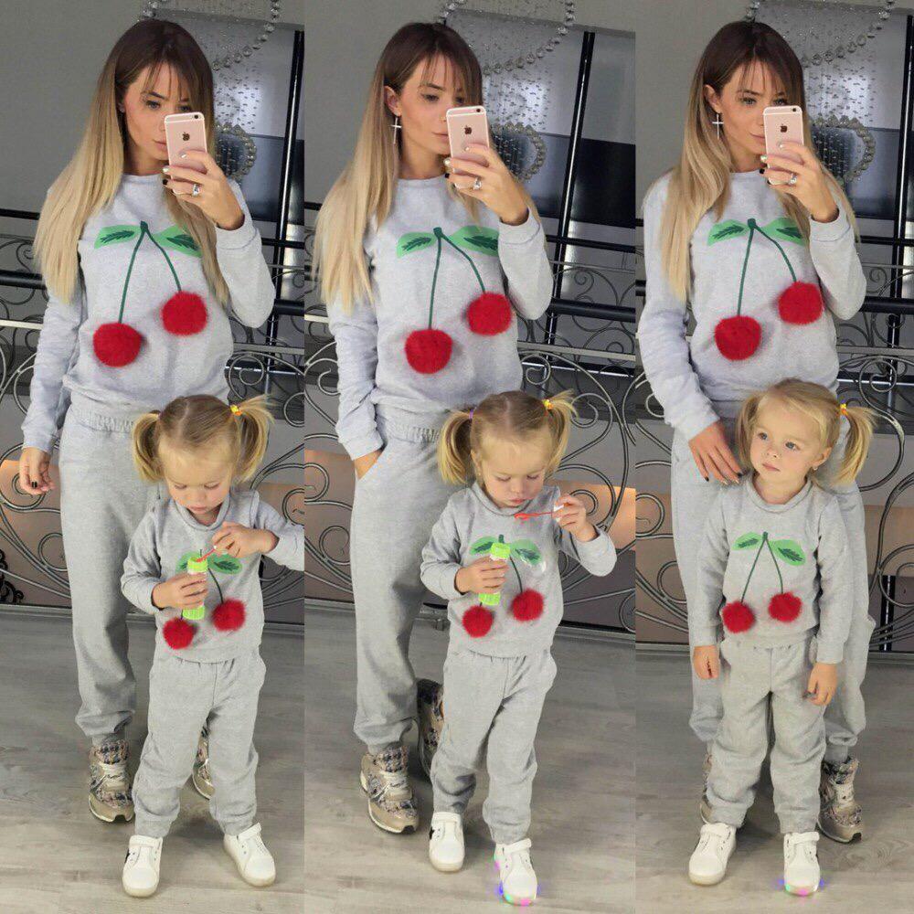 Костюм для мамы и дочки