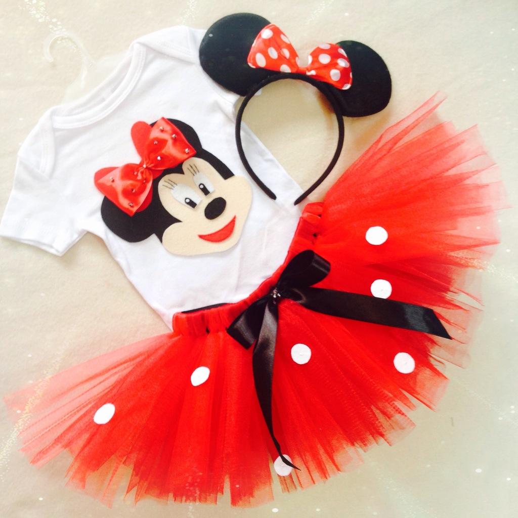 Новогодний костюм мини мауса для девочки своими руками