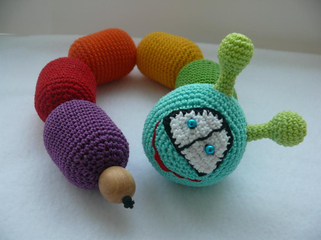Вязание погремушек крючком