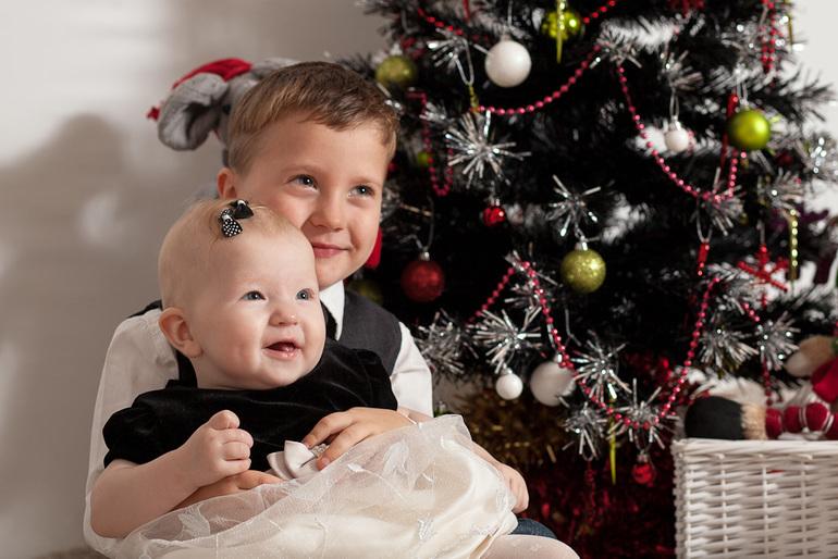Как провести самую лучшую Новогоднюю съемку своих детей в домашних условиях!