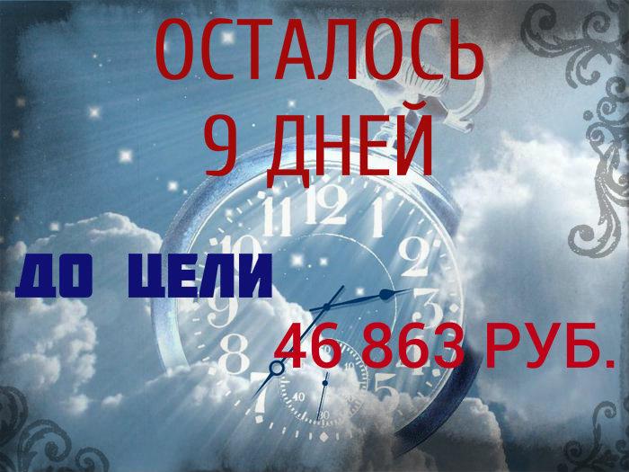 9 ДНЕЙ!!!