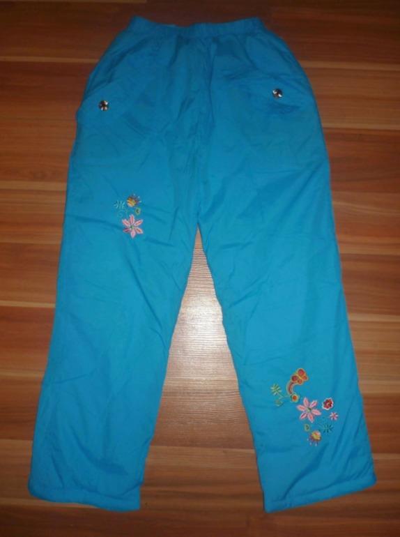 На дев. р.110-128: комплектом за 500 р.: новые штаны +колготы +заколки.