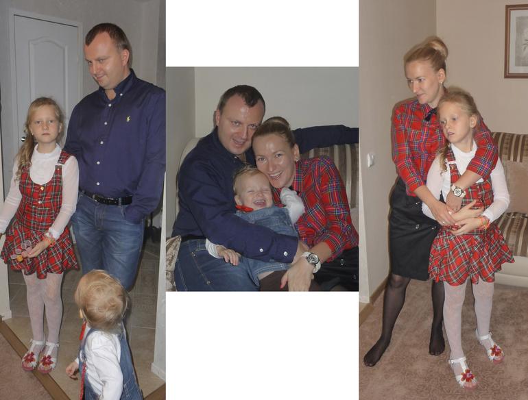 Наряд для семейной фотосессии