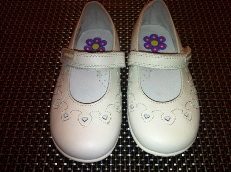 Белые туфельки PABLOSKY 22 и 24 р-р