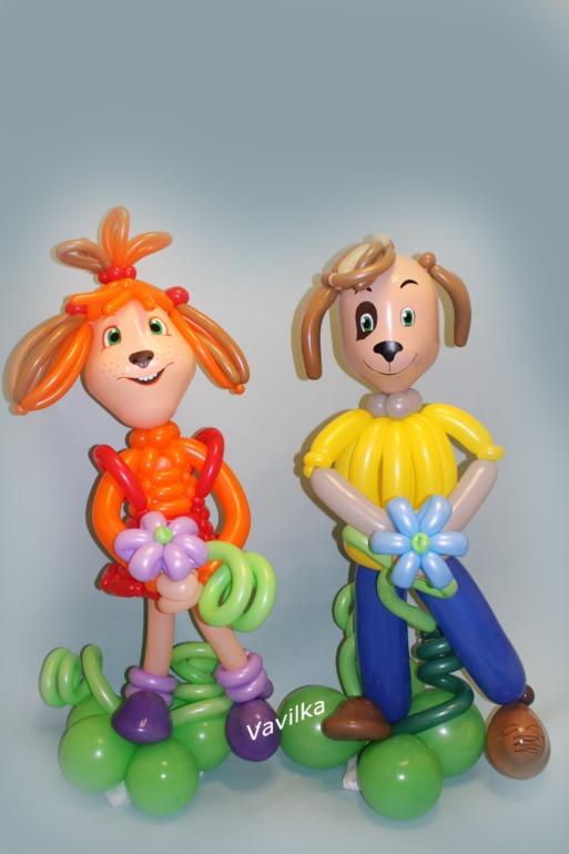 Кукла на качелях