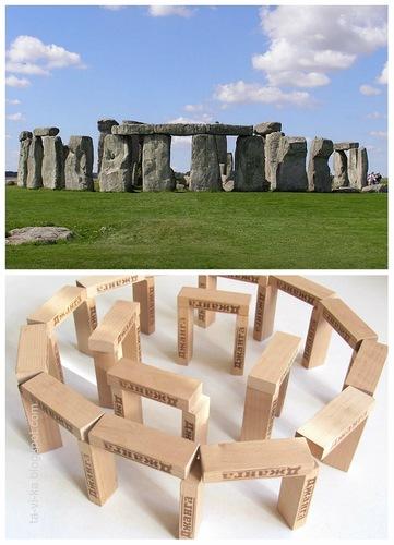 Развивающее занятие: Изучаем архитектуру - строим копии знаменитых зданий из кубиков.