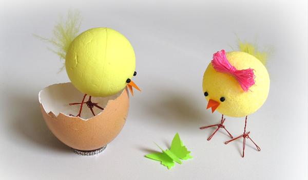 Как сделать цыпленка своими руками из подручных материалов