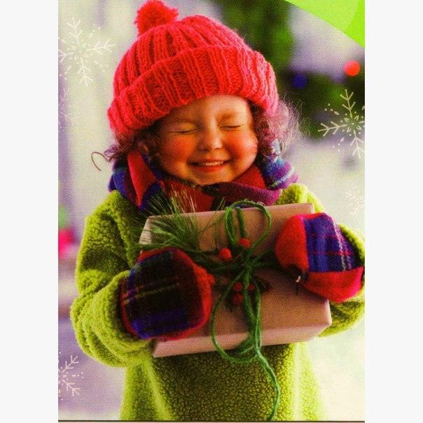 Картинка девочка и новый год