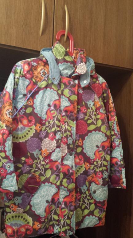 Куртка зимняя Hanna Anderson р140 б/у