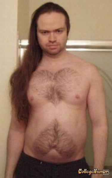Волосатая грудь мужика фото 194-937