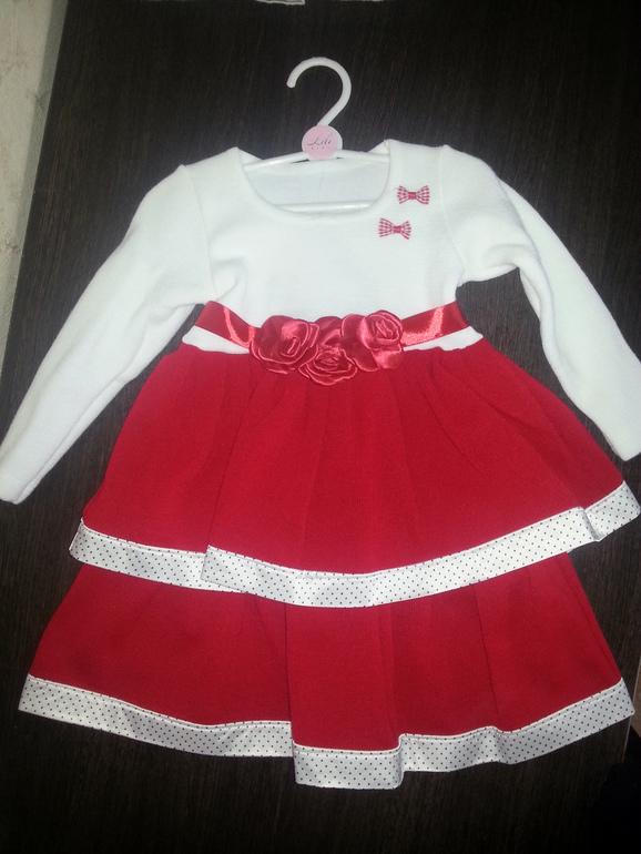 Новое платье Lili 4 года 1500 руб
