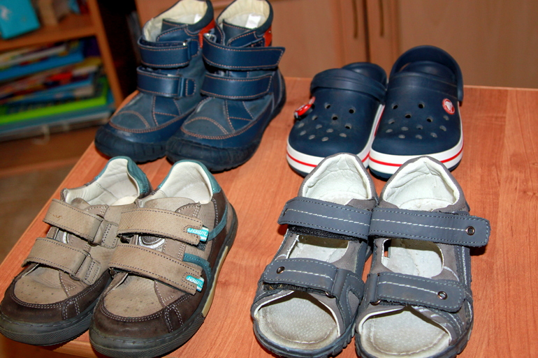 Ревизия б/у обуви для мальчика