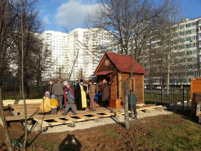 Просьба о помощи в строительстве храма, Москва (от моей подруги)