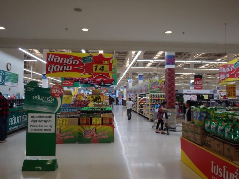 Магазины Самуи - Макро и Теско. И рынок Мэнама