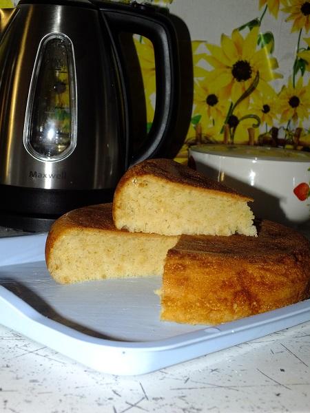 Печь бисквиты в мультиварке