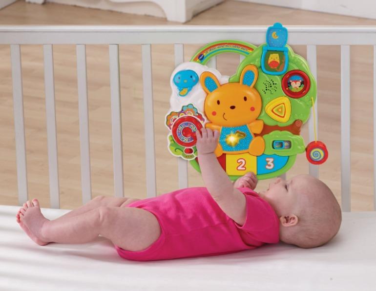 Музыкальный мобиль+ планшет 2 в 1 в детскую кроватку в наличии .VTECH