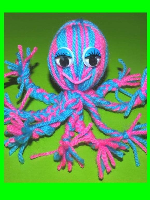 Поделка своими руками осьминог