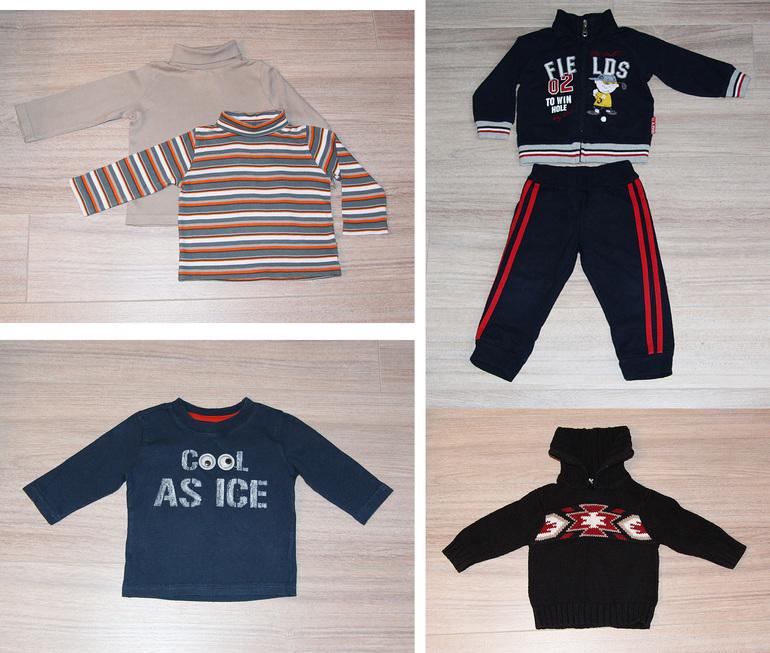 Одежда  для  мальчика  MotherCare,  Mayoral,  Crazy8,  Zara,  р.  6-12  мес  (74-80см),  б/у