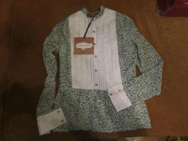 Дизайнерская блузка MARMELADE 46 размер. - 1000 руб. на ОГ - 92.