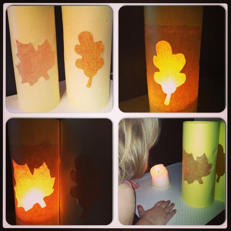 Осенний фонарь своими руками 6