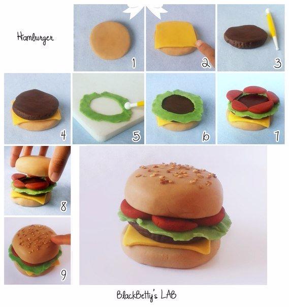 Как сделать торт кукол из пластилина
