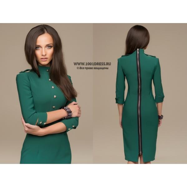 Продам платье изумрудного цвета 1001 DrEss