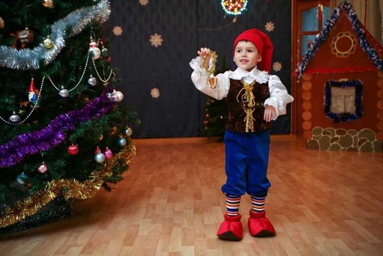 Фото костюм гнома для мальчика своими руками