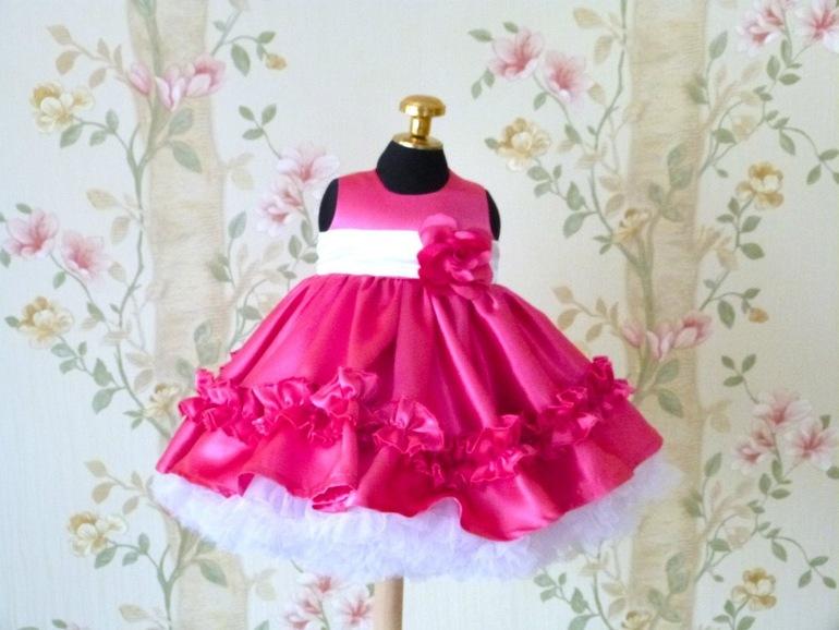 Купить Красивое Платье Девочке На Годик