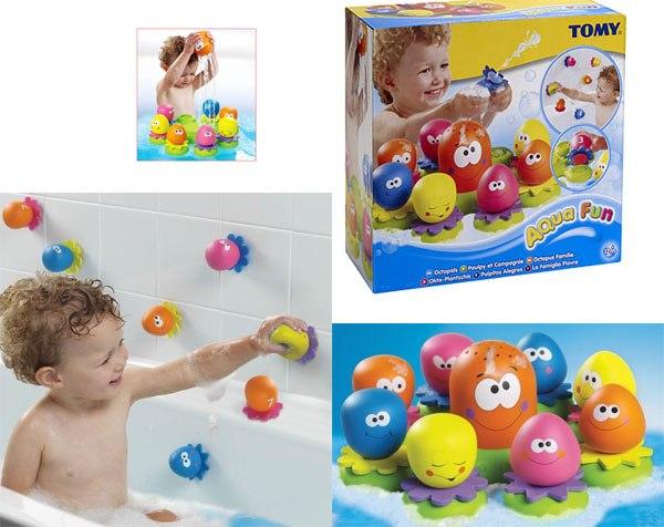 Игрушки для ванны Осьминожек TOMY, 810 р