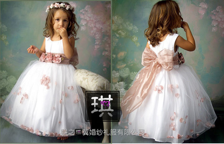 Платье на свадьбу маленькой девочке
