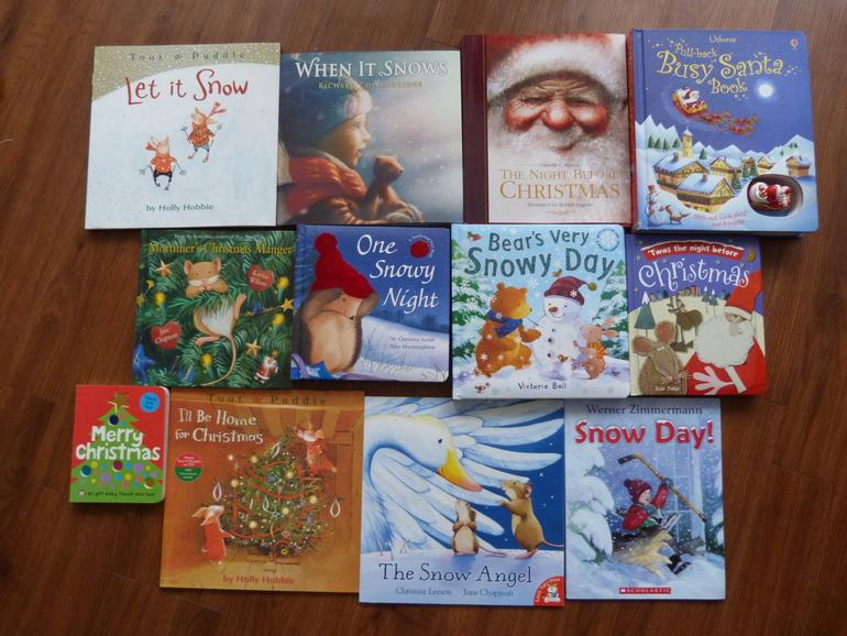 Наши книги про зиму и Новый год на английском.