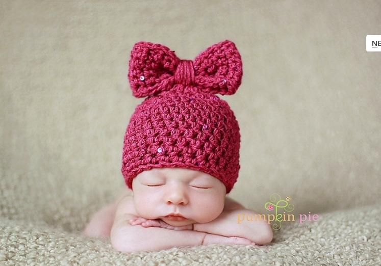 Вязание крючком для новорожденного шапка 330