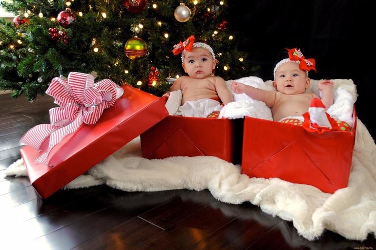 Подарки на новый год с маленьким ребенком
