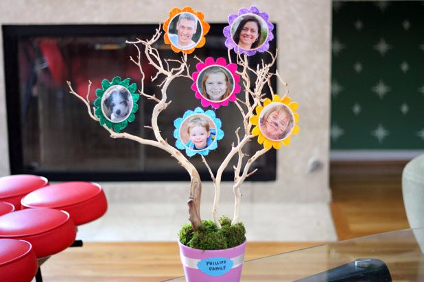Дерево семьи своими руками мастер класс