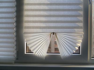 Жалюзи на окна бумажные
