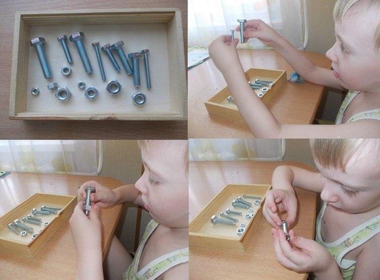 Предметы для развития мелкой моторики рук своими руками