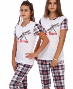 Пижама Стрекозы с бриджами