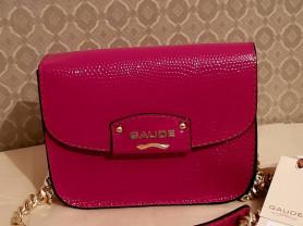 Новая сумочка кроссбоди Gaude кожа малина