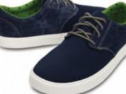 Crocs новые джинсовые кеды-слипоны