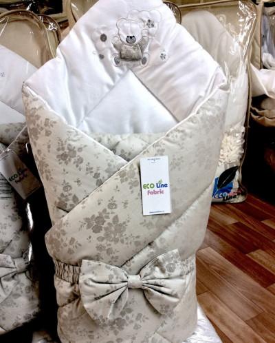 Красивое одеяло на выписку из роддома своими руками