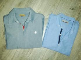 Две стильные рубашки р. 128