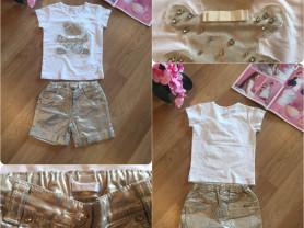 Итальянский летний комплект Microbe (футболка и шорты)