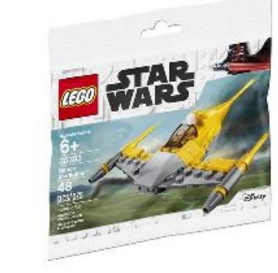 LEGO STAR WARS. Naboo Starfighter (3085)