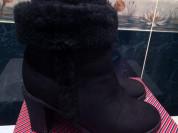 Зимние ботинки Tervolina нат. нубук и мех