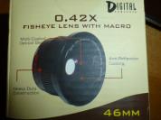 макро линзы Digital Concepts 0.42X, нов.,46мм, FE