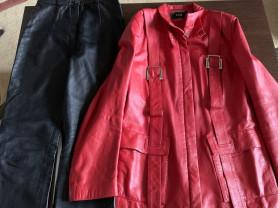 Куртка кожа р.42-44 + подарок.