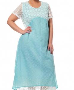 Платье мята 17326