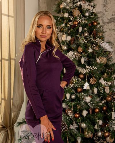 Платье П 77 (фиолетовый)